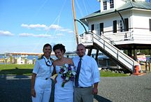 On Shore Wedding Officiant, St Michaels MD / Out of season Capt Iris still offers her service as a wedding officiant in and around St Michaels, MD