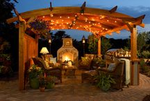 Patios and outdoor kitchens / by Cindy Sams