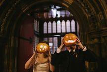 Hallowe'en / We love dressing our venues for Hallowe'en - an excuse to go wild! Creative food is of course standard.