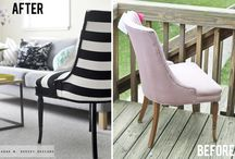 Summer House UPHOLSTERY or Paint the fabric;