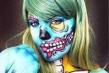 Body Paint  Pop Art Zombie