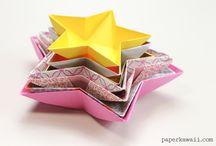 Origami-Sterne
