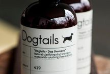 DOGTAILS DOG SHAMPOO / Dogtails® - Natural Dog Products. Great for your dog's fur, mentality and our earth.  www.DogtailsShop.com