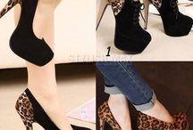 Cheetah shoes
