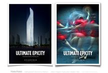 Epicentrum / Epicentrum envisions a city in Asia like no other where people can live, work, play and invest in a way that is inspiring and groundbreaking with everlasting impact.  http://makkimakki.com/branding/index/9