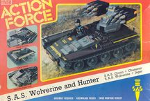 Action Force toys  / Magical toys
