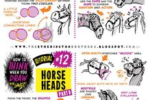 How to draw Horse