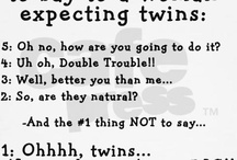 2 is better than 1! / Being a mom of twins is the most fun I've ever had! / by Cortnee Dixon