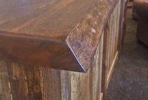bar din lemn