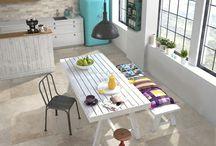 Concrete Inspired Porcelain Floor Tiles