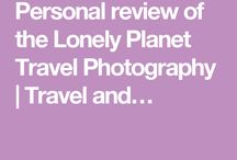 Product Reviews / A board that contains good products reviews related to travel and photography