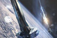 Космос: корабли