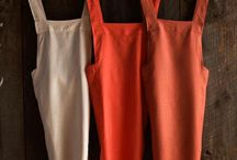 Aprons and others