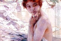 Paul Chabas (1869-1937 French)