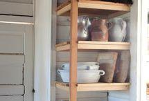 Kitchen / pantry / by Brittany Rubalcava