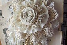 цветы текстильные