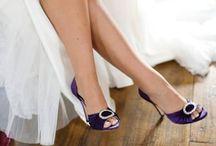 Wedding shoes - bride and bridesmaids