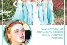 Enter to win! / We've teamed up with skyn ICELAND to help our Bari Jay Bridesmaids #StressLess!   Enter to win skyn ICELAND products for your wedding party!   -------> http://woobox.com/fmjtdy