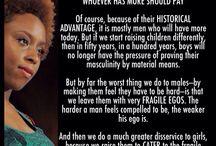 ~Chimamanda Ngozi Adichie~ / Nigerian writer and renowned feminist thinker. A true inspiration for all women!