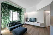 Milan Interior 8760 dm2 / renovation apartments in Milan