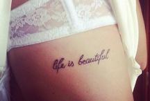 Beauty ~ Tattoo Ideas