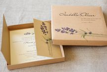 Invitation Wedding Box / Wedding Invitation Set - box invitations