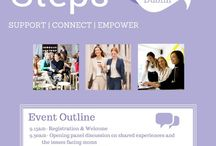 Working Moms / eumom are hosting Next Steps to support mothers in the workplace in UCD on Saturday, October 10th with a series of hands-on workshops for guidance on topics on Time Management, Getting What You Want and Employee Rights.