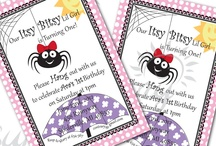 Spider birthday party / ideas for Lucie's 2nd birthday party spider obsession