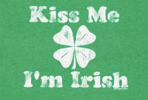 I have red hair, freckles, and green eyes, I must be Irish