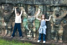 Cambodia Family Travel / Beyond our Leap & Hop Cambodia travel book,here are tips and ideas for families traveling to Cambodia: itineraries, activities, things to do, to see, where to eat and kids' stuff.
