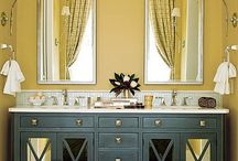 mirrors and light fittings / accessories