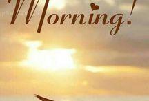 ráno a večer