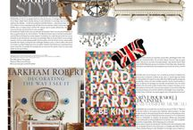 Design Editiorials / All my interior design editorials! xx #Brit