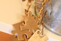 Újrahasznosított ékszerek / Recycled jewelry DIY