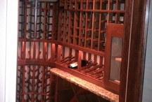 Durable and Naturally Beautiful Mahogany Wine Racks