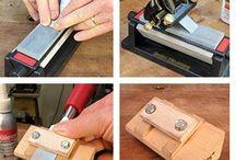 Sharpening Chisels