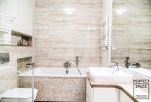 Wanna w łazience / Aranżacja wnętrza łazienki z wanną