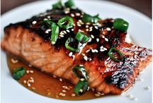 Some Salmon?!  / Benefiting from heart healthy omega 3s by enjoying #salmon!