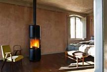 Wood pellet stoves for Bedrooms and Interior Design Inspiration / #Interior #Design #Inspiration for #Architects, #Interior Designers and Home-Owners who may wish to install a #wood #pellet or #wood #burning #stove in a #bedroom in their home