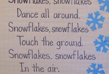 Kindergarten Winter themed ideas / Activities for winter studies ~ snow, penguins, polar bears, etc.
