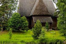 Landen - Finland - Kerken / by Monique Bakkum