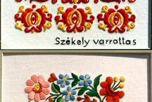 Hungarian embrodery