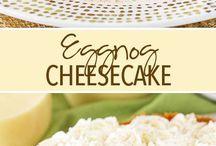 Egg big cheesecake