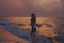 Beach portraiture