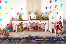 Decoration / Decoración / Decorative pieces created at Hotel Suites Villa María.