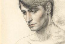 Dibujos / Drawings / Dibujos de Claudio Bravo Camus.