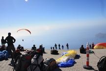 tandem paragliding / Babadağ Ölüdeniz height 1968mt