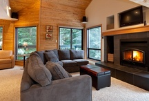 Telemark #14 / Telemark 14 is a beautifully renovated 3 level, 4 bedroom , 3 bathroom townhome located in a quiet woodland setting but within easy walking distance to all the activities and amenities that Whistler Village has to offer and the Whistler gondola.