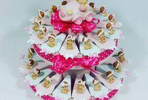 torta bomboniera per nascita