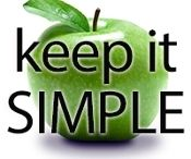 """Keep It SIMPLE - Easy to follow meal plans to help you reach your goals! / This plan represents a balanced approach to nutrition, providing an average Macro Ratio of 40% protein, 30% carbs, 30% fat.  5 days a week, the meals are identical – the same breakfast, the same snack(s), the same lunch. Dinner is the only variant – changing each day. 2 days a week, the menu changes (typically, this would be a weekend) and accounts for a """"treat meal"""". Follow this plan for a week, a month, or however long it takes you to become comfortable eating clean. Learn more by clicking..."""